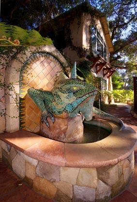 Ojai-Emerald_Iguana_Inn_Hotel_Ojai_California_Iguana