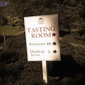 TheDuaneWells.com - Tasting Room Sign at Imagery Winery