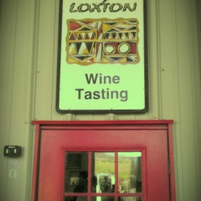 TheDuaneWells.com - Entrance to Loxton Wines Tasting Room
