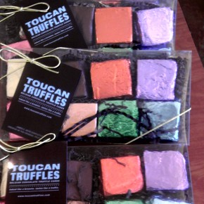 TheDuaneWells.com - Toucan Truffles pair brilliantly with Mayo Family Winery's Port