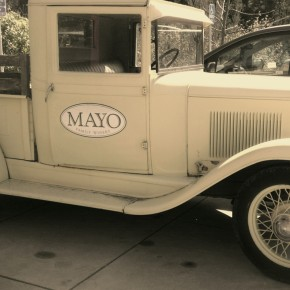 TheDuaneWells.com - Vintage truck at Mayo Family Winery