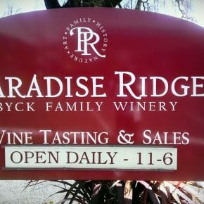 TheDuaneWells.com - Paradise Ridge Winery Tasting Room