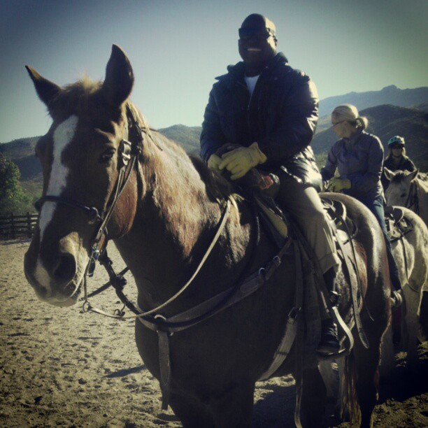 TheDuaneWells.com-Duane on Horseback at Tanque Verde Ranch
