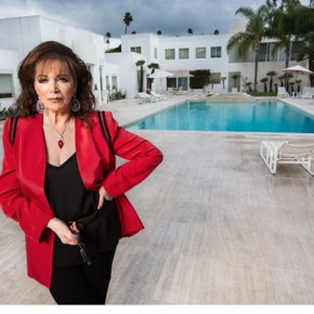 On a Power Trip with Jackie Collins