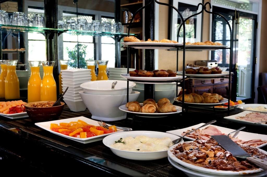 Gaige House Breakfast