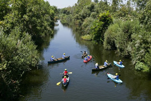 Kayakers-LA-River