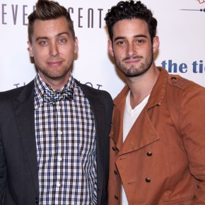 Lance Bass with Friend-TTK -Adam-Emperor Southard