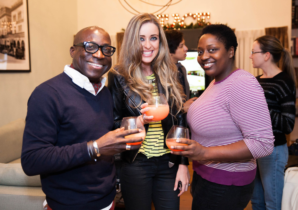 With Marina Monroe and fellow blogger Chrystal