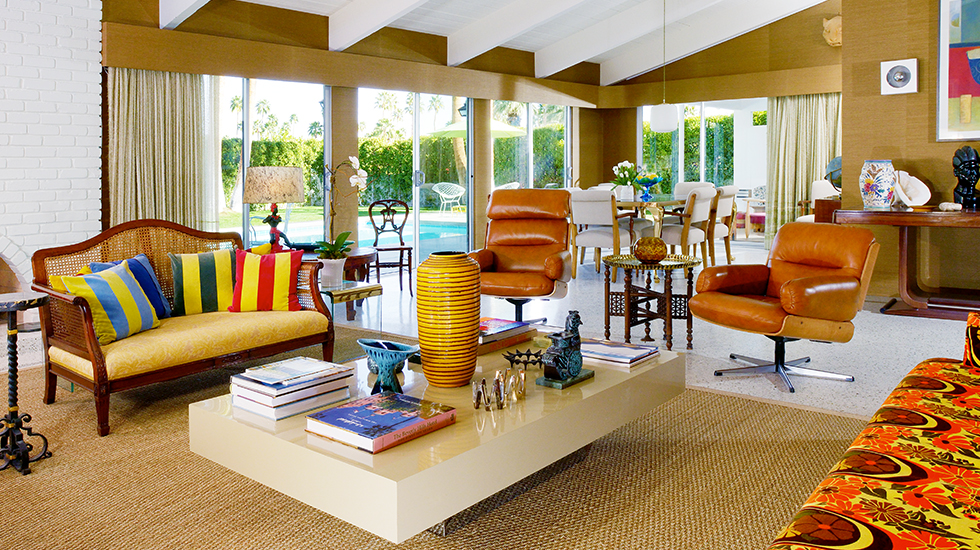 Stephen Collins Living Room - Palm Springs