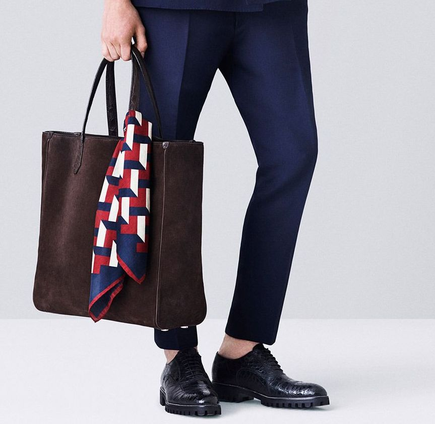 Tote + Scarf - Bally S/S 2015