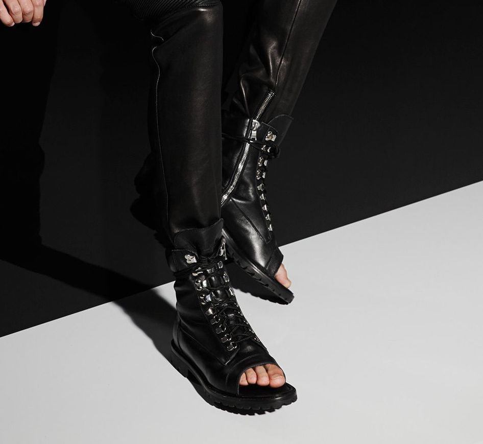 Lace-up Sandals - Balmain