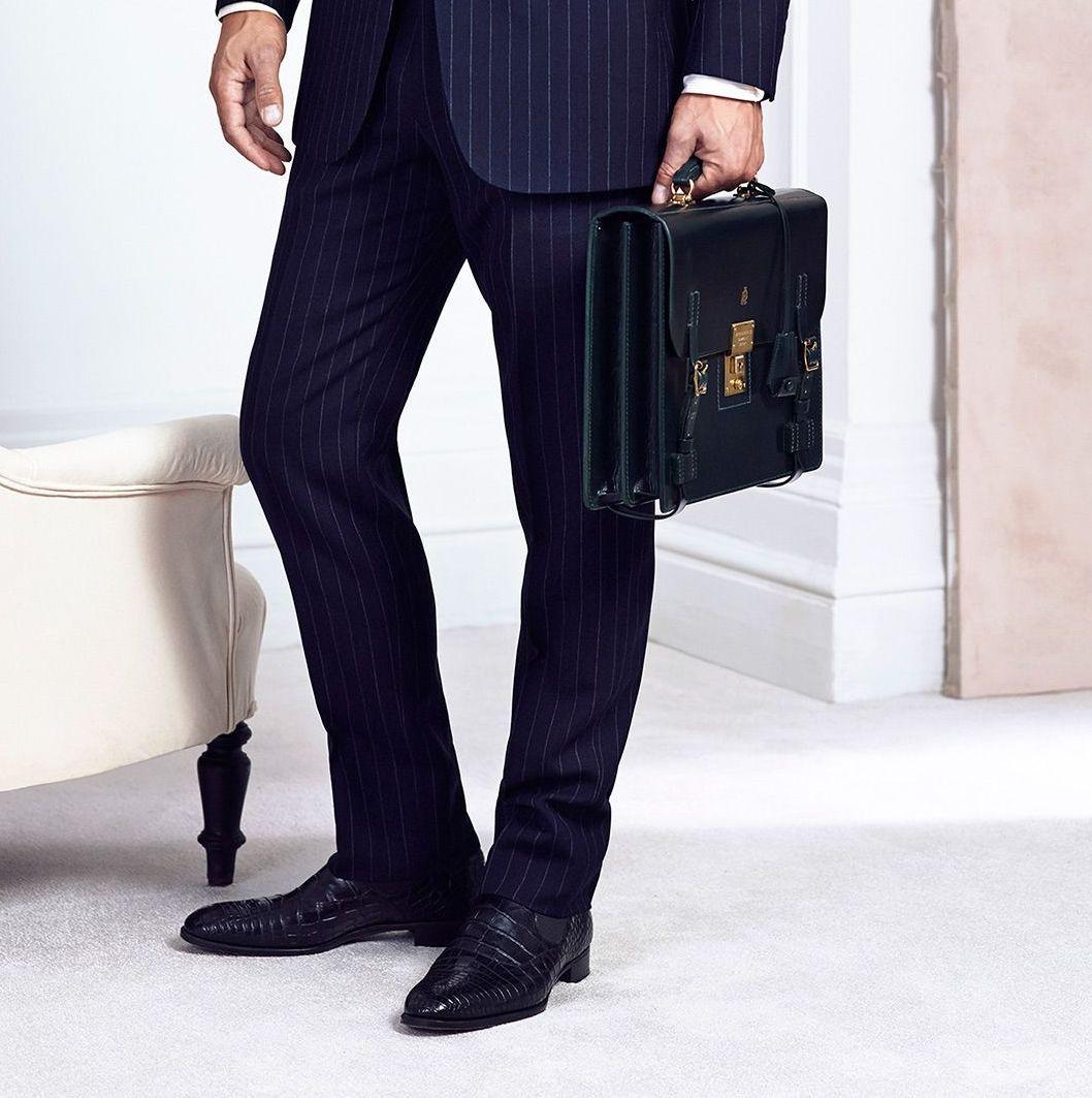 Briefcase - Dunhill S/S 2015