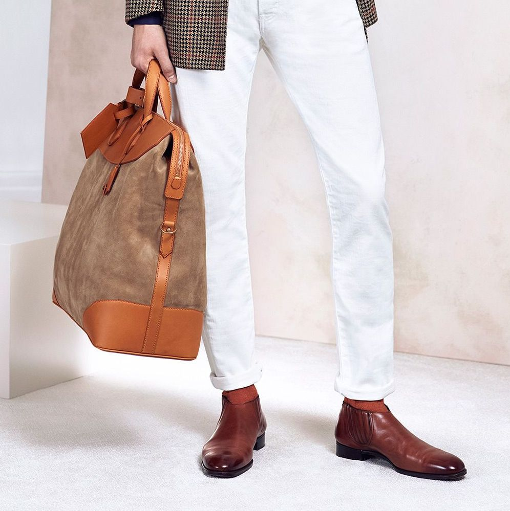 Holdall - Dunhill S/S 2015