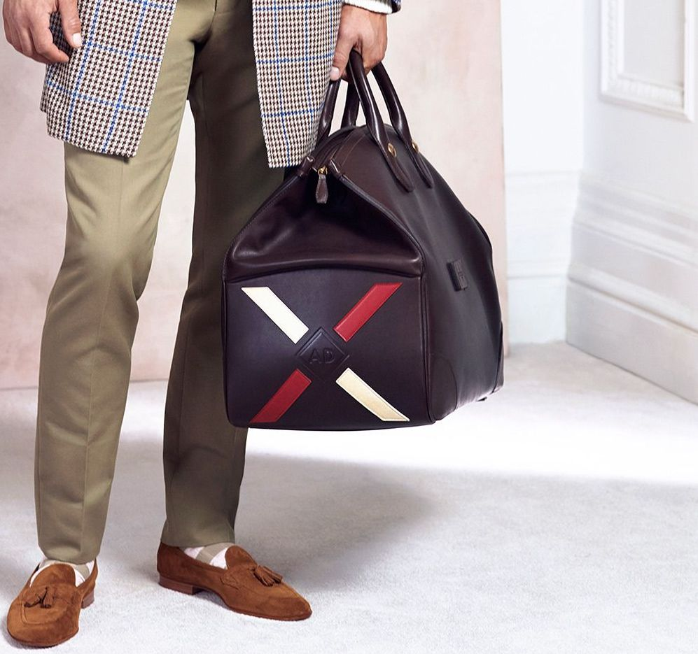 Large Duffel - Dunhill S/S 2015
