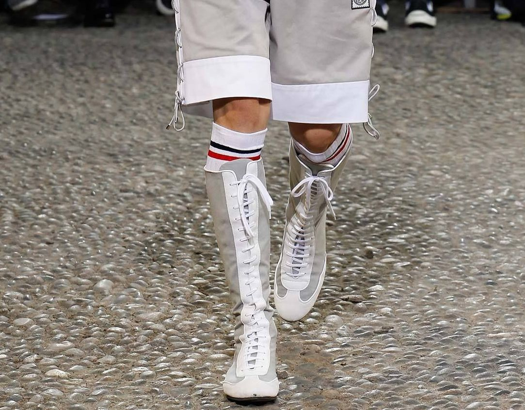 Boots -Moncler Gamme Bleu S/S 2015