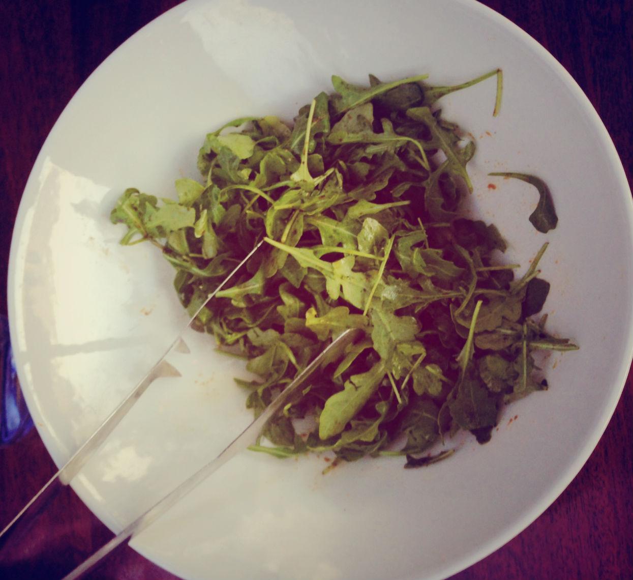 Arugula Salad at Rustic, Francis Ford Coppola Winery