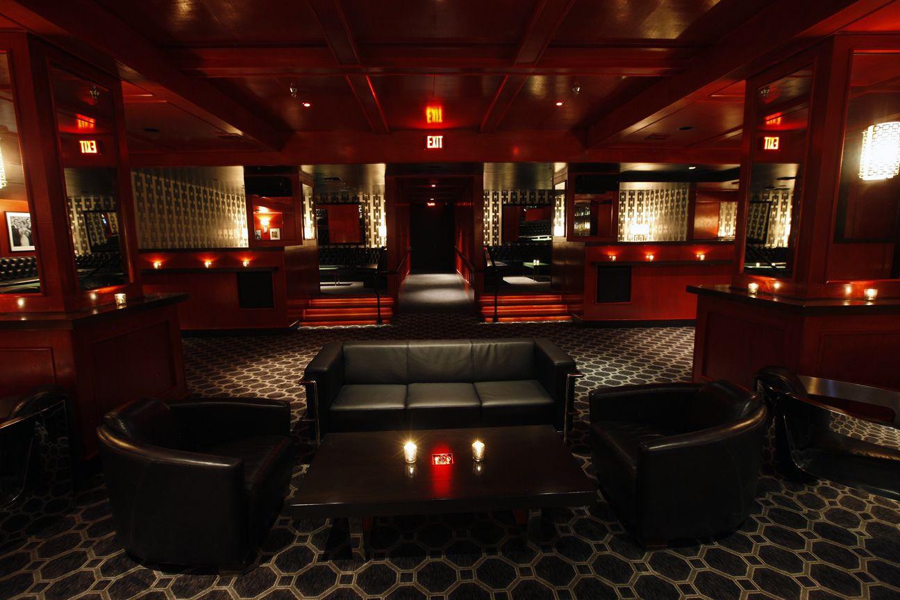 Interior Continental Club DTLA