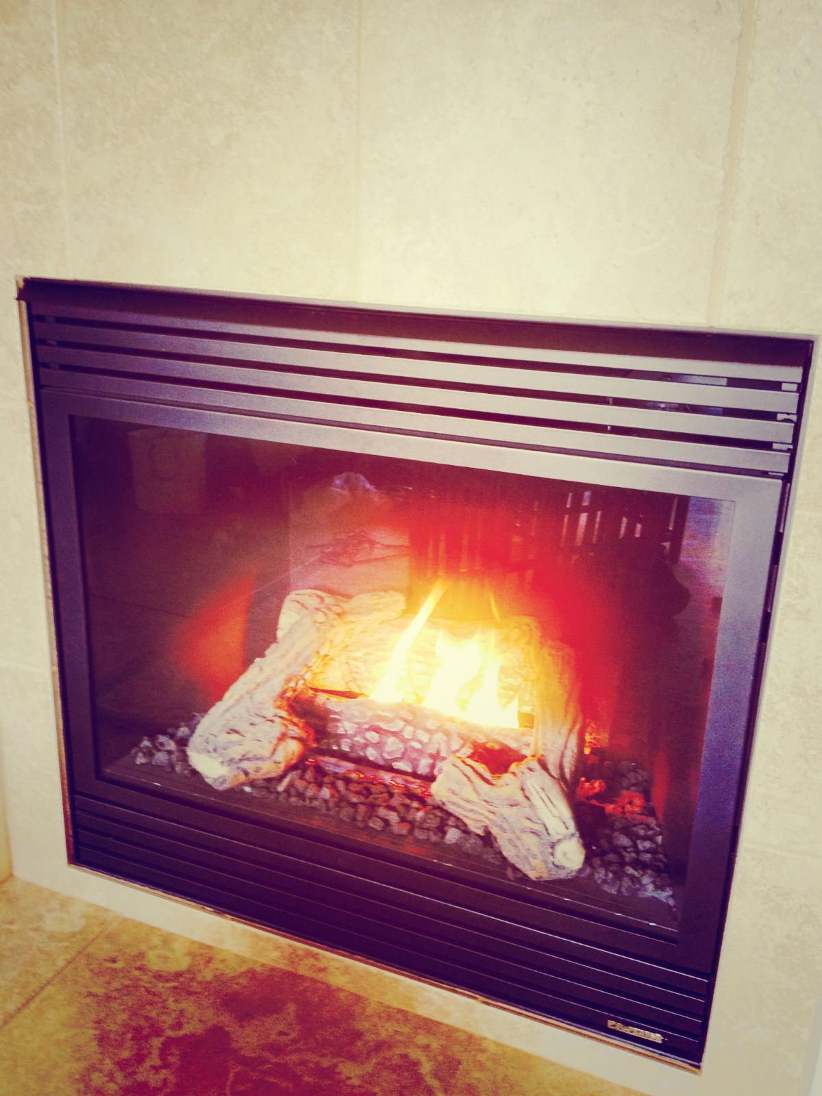 Fireplace, Key West Suite, Geyserville Inn