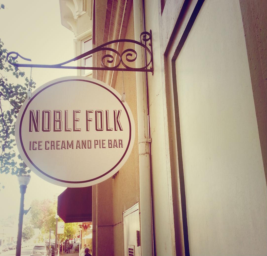 Noble Folk Ice Cream and Pie Bar, Healdsburg