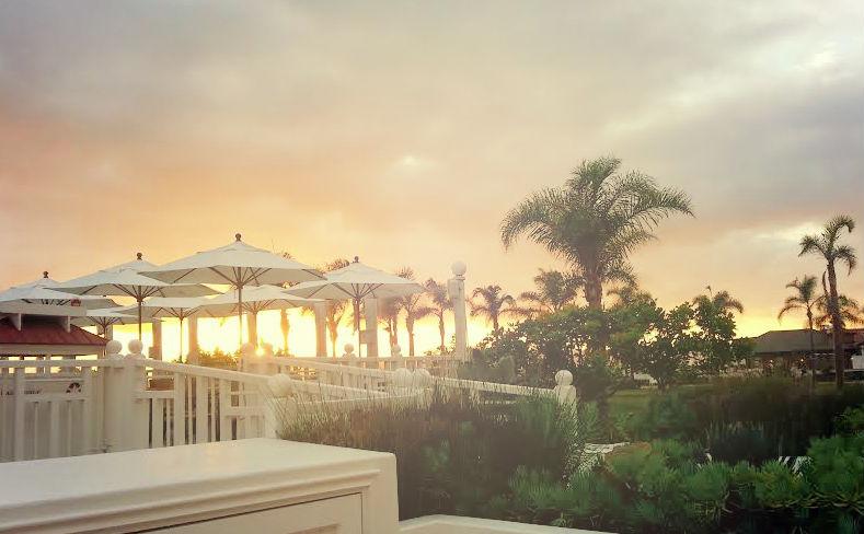 Sunset at Eno