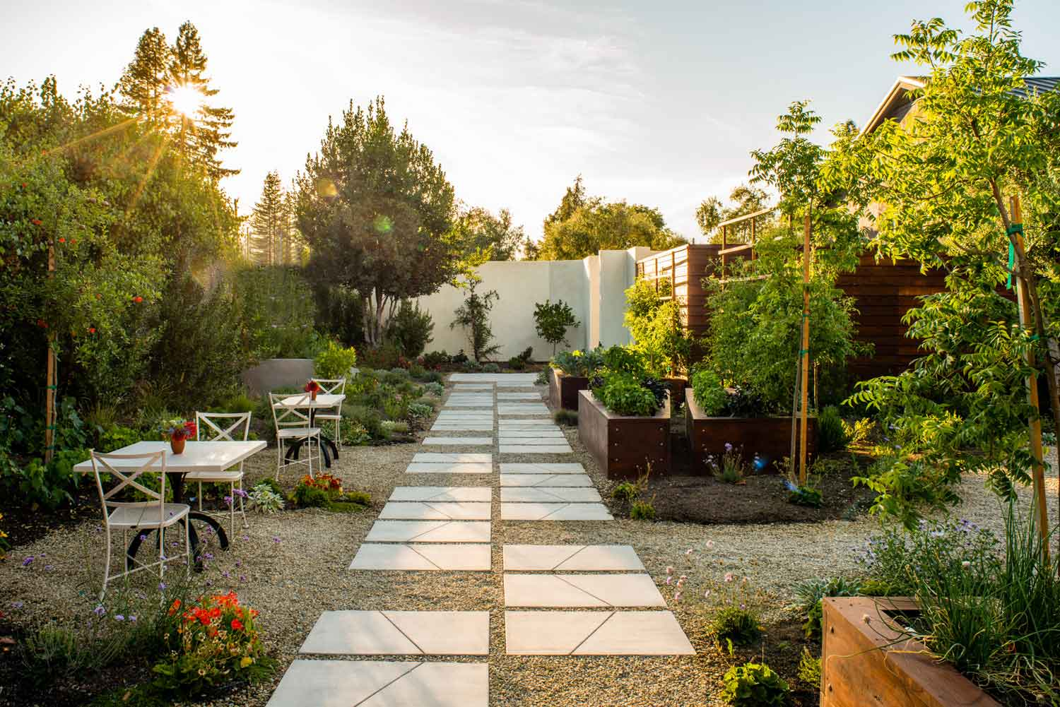 The Garden Path at Catelli's