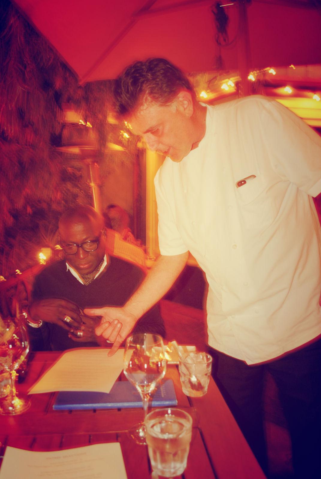 With Chef Azmin Ghahreman, Sapphire Lounge