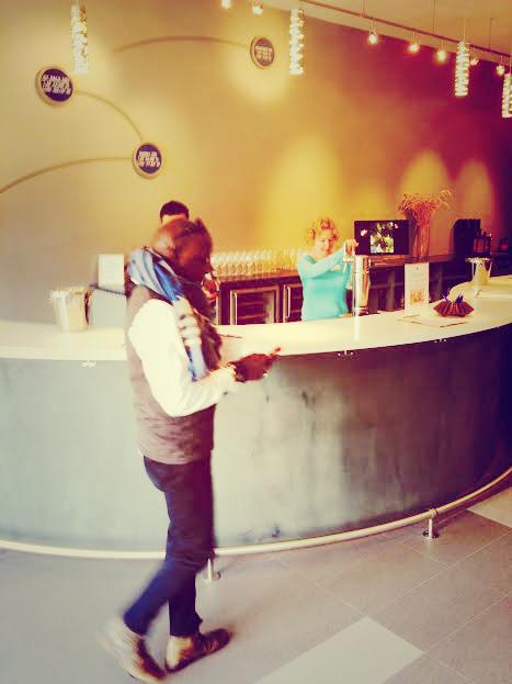 Arriving at Cartograph Wines Tasting Room, Healdsburg