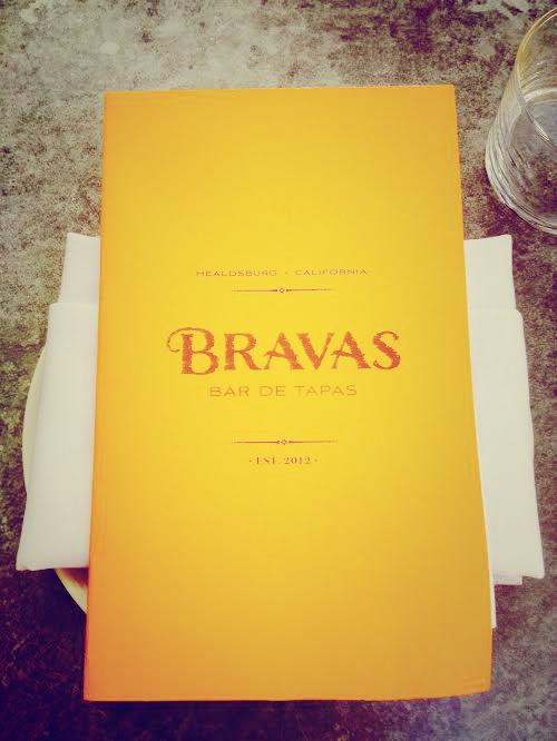 The Menu at Bravas