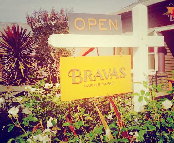Welcome to Bravas, Healdsburg