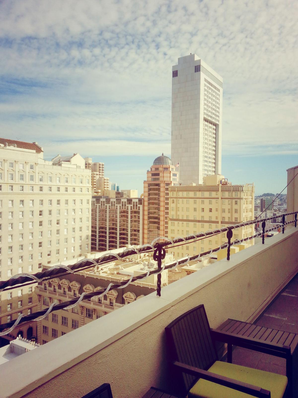 Another terrace view, Samuel Suite, Hotel Adagio