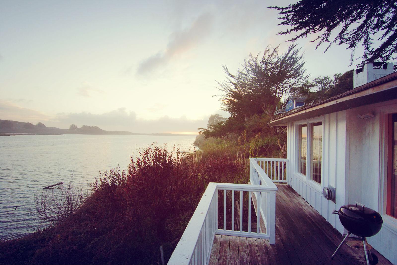 Deck, Rosewood Suite, Jenner Inn
