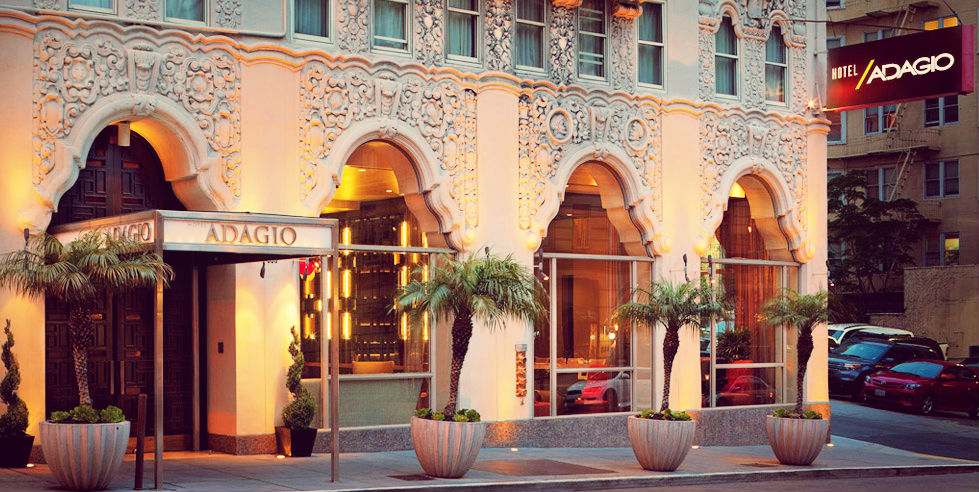 Hotel Adagio Entrance