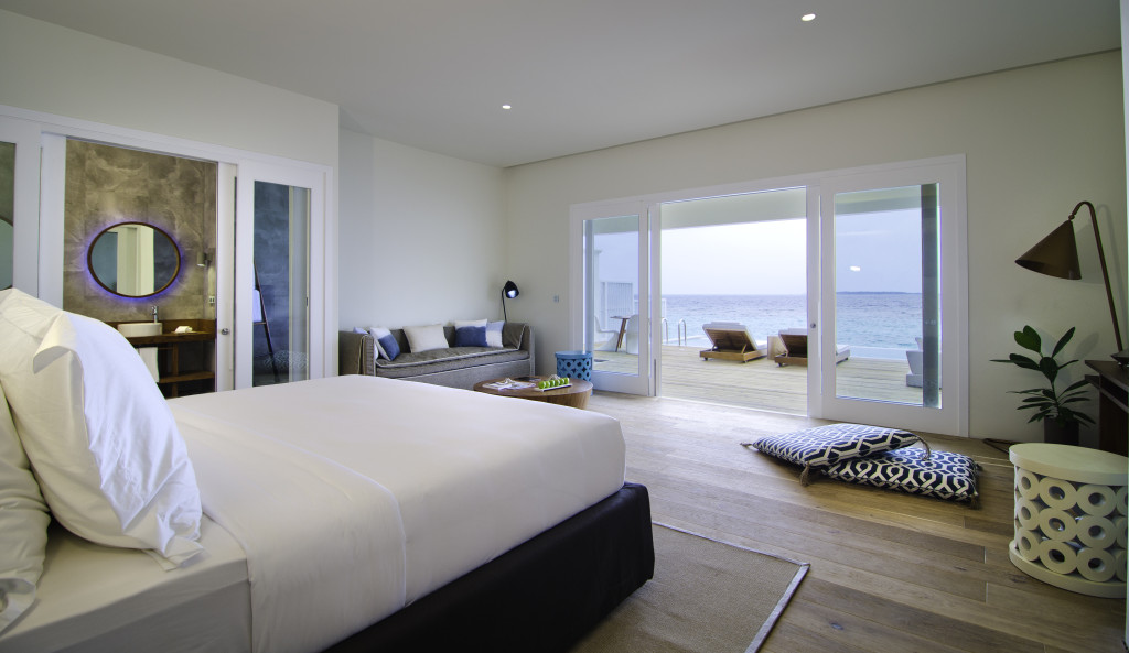 Amilla Lagoon House Bedroom