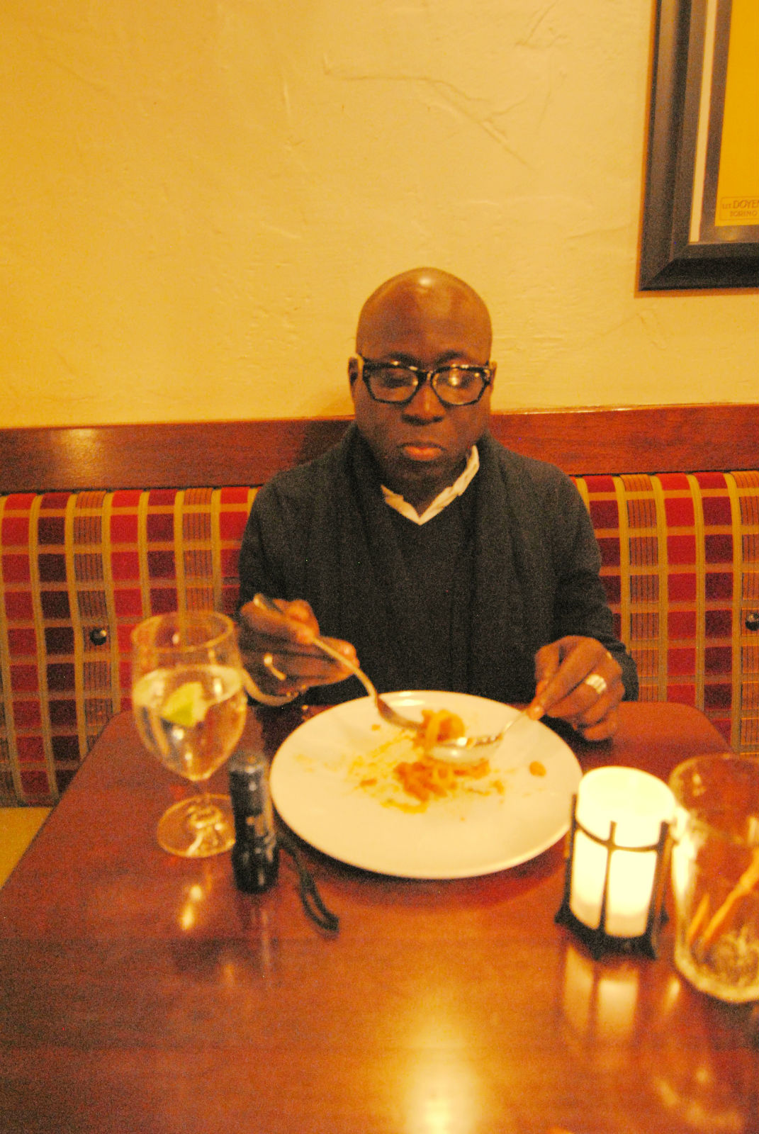 Sampling the fare at Cantinetta Luca