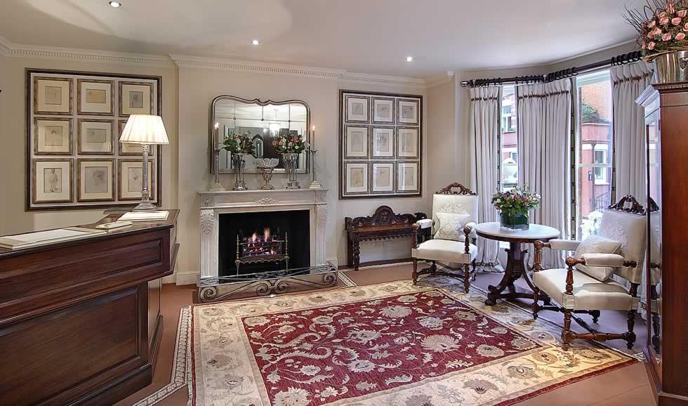 Egerton House Lobby