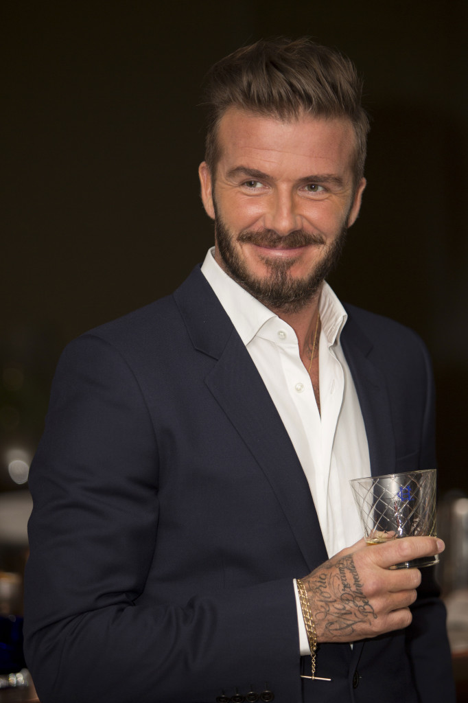 David Beckham Toasts the Arrival of Haig Club Single Grain Scotch Whisky to the US in LA_Photo Credit Tom Bunning