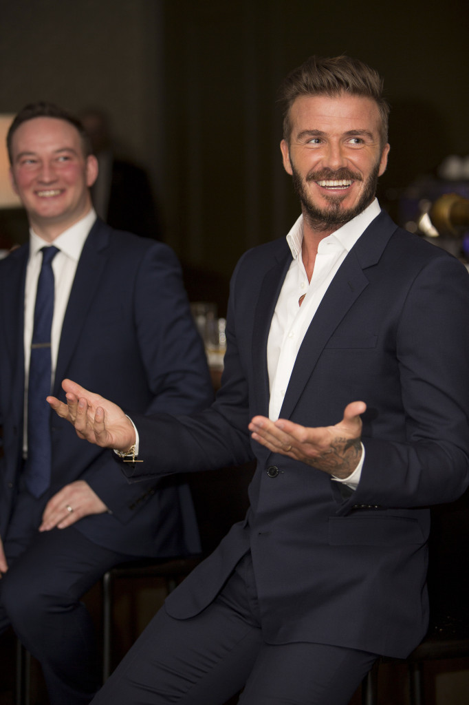 Haig Club Brand Partner David Beckham and Global Ambassador Ewan Gunn Led Haig Club Single Grain Scotch Whisky Tasting at US Launch Event in LA_