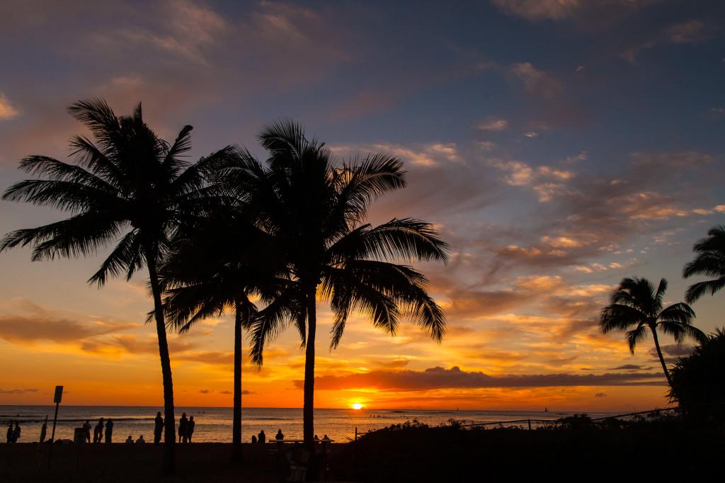 Sunset, Poipu Beach