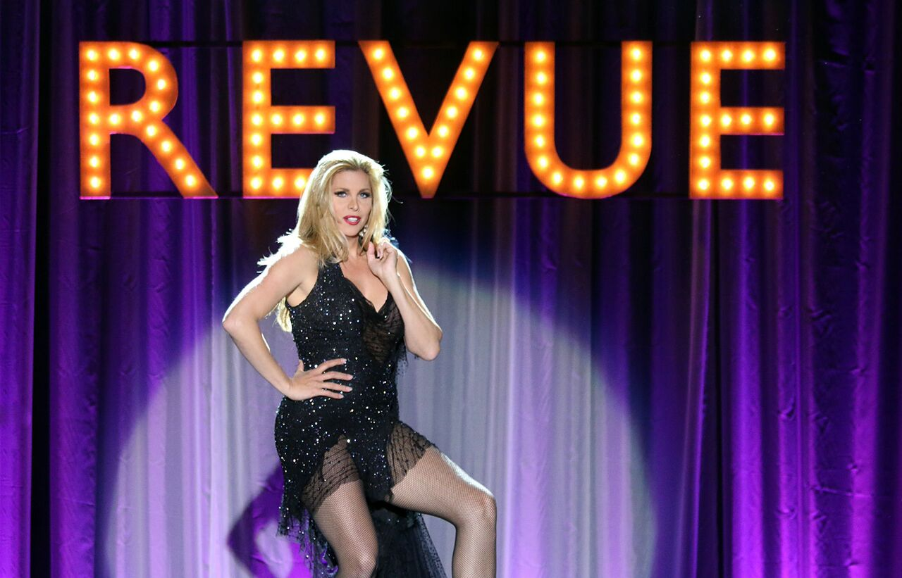 Candis Cayne kicks off REVUE