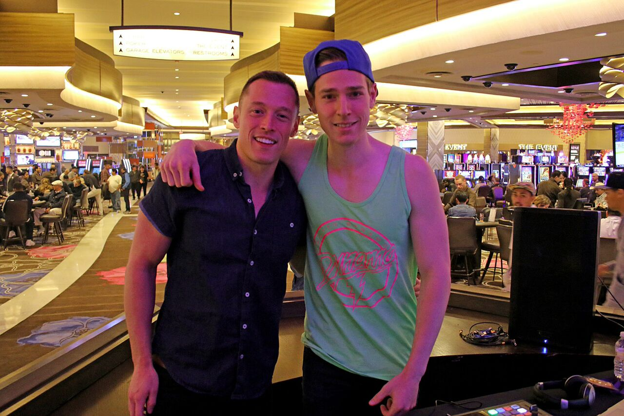Davey Wavey and DJ Scotty Dynamo
