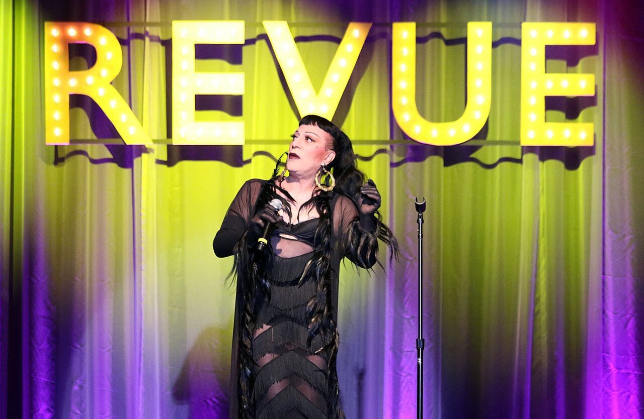 Joey Arias takes center stage at REVUE