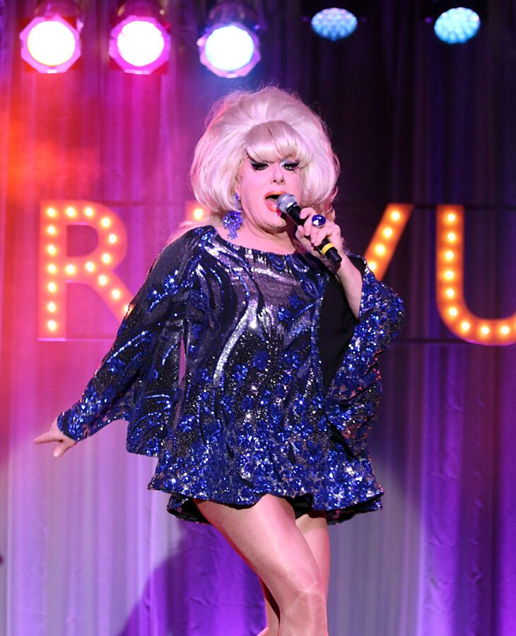 The one and only Lady Bunny...
