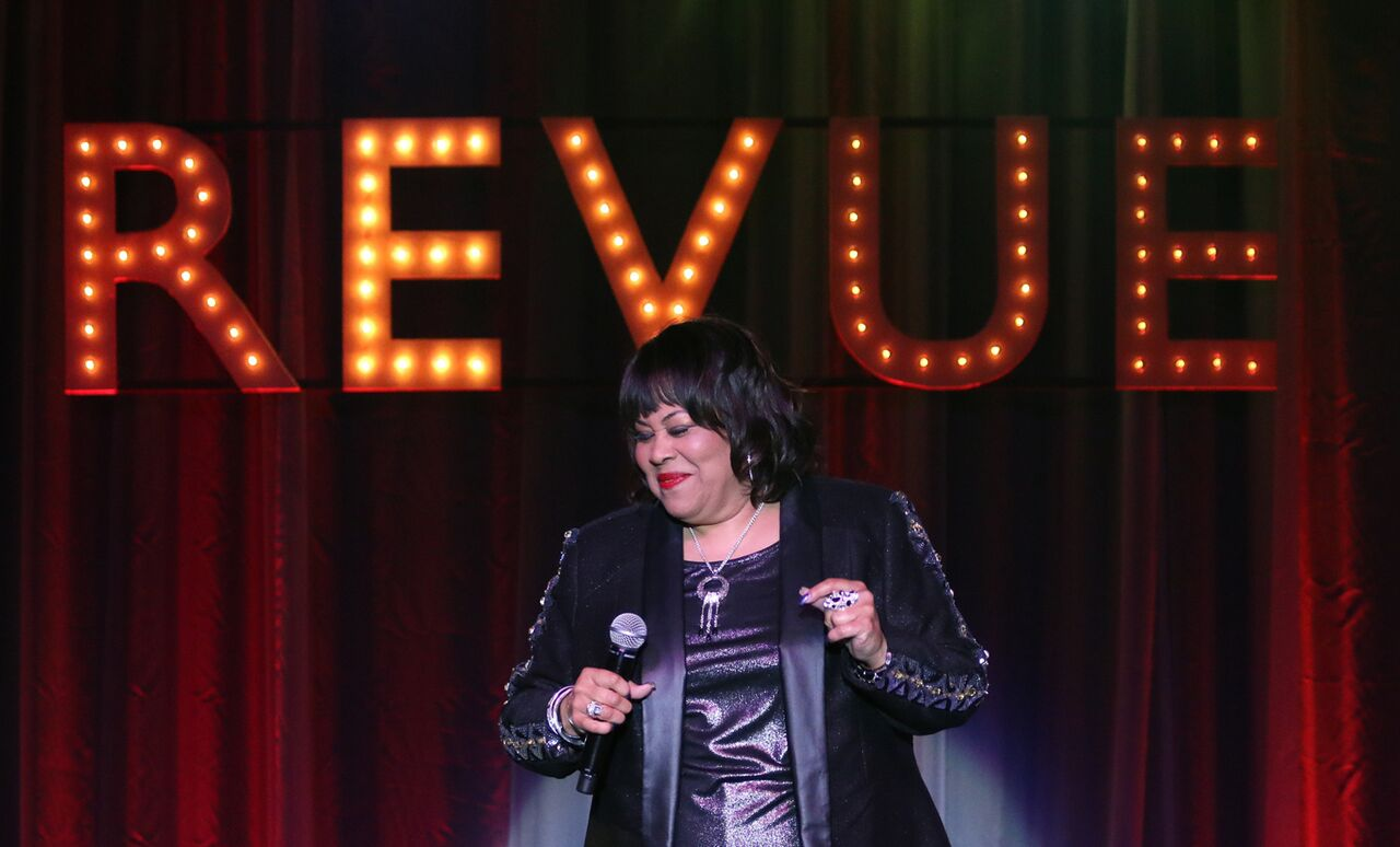 Martha Wash kicks the party into high gear