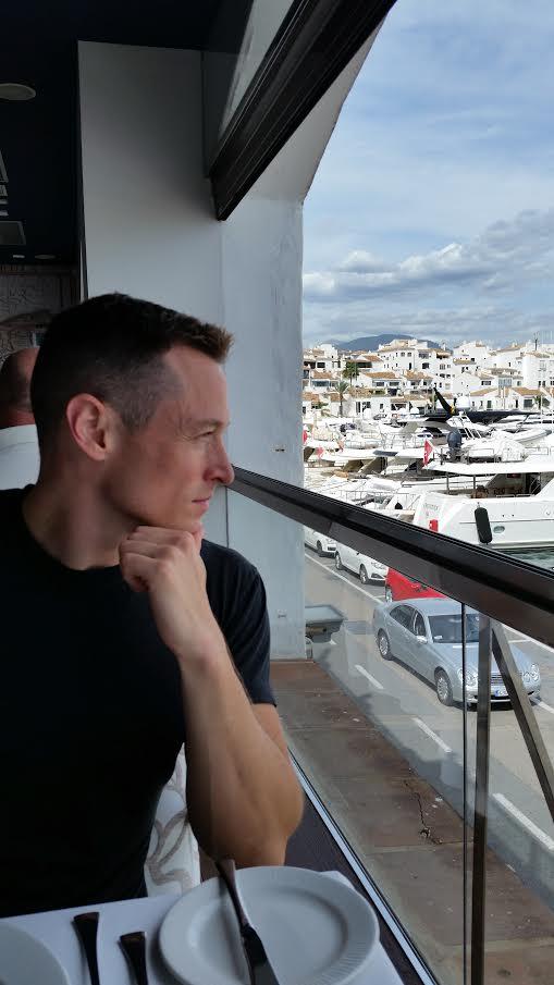 Davey Taking in Puerto Banus