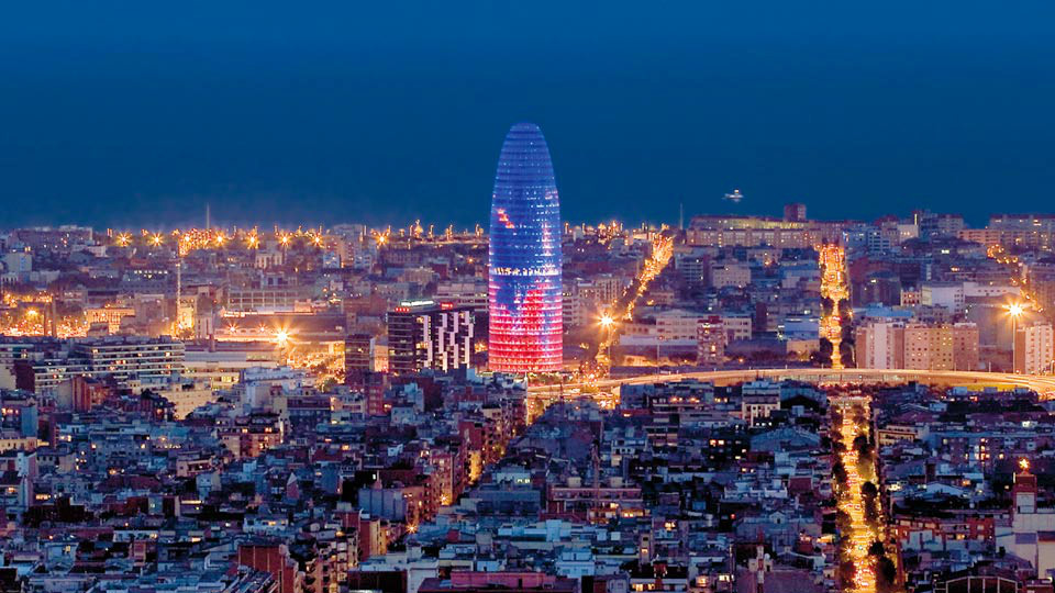 Barcelona-at-night