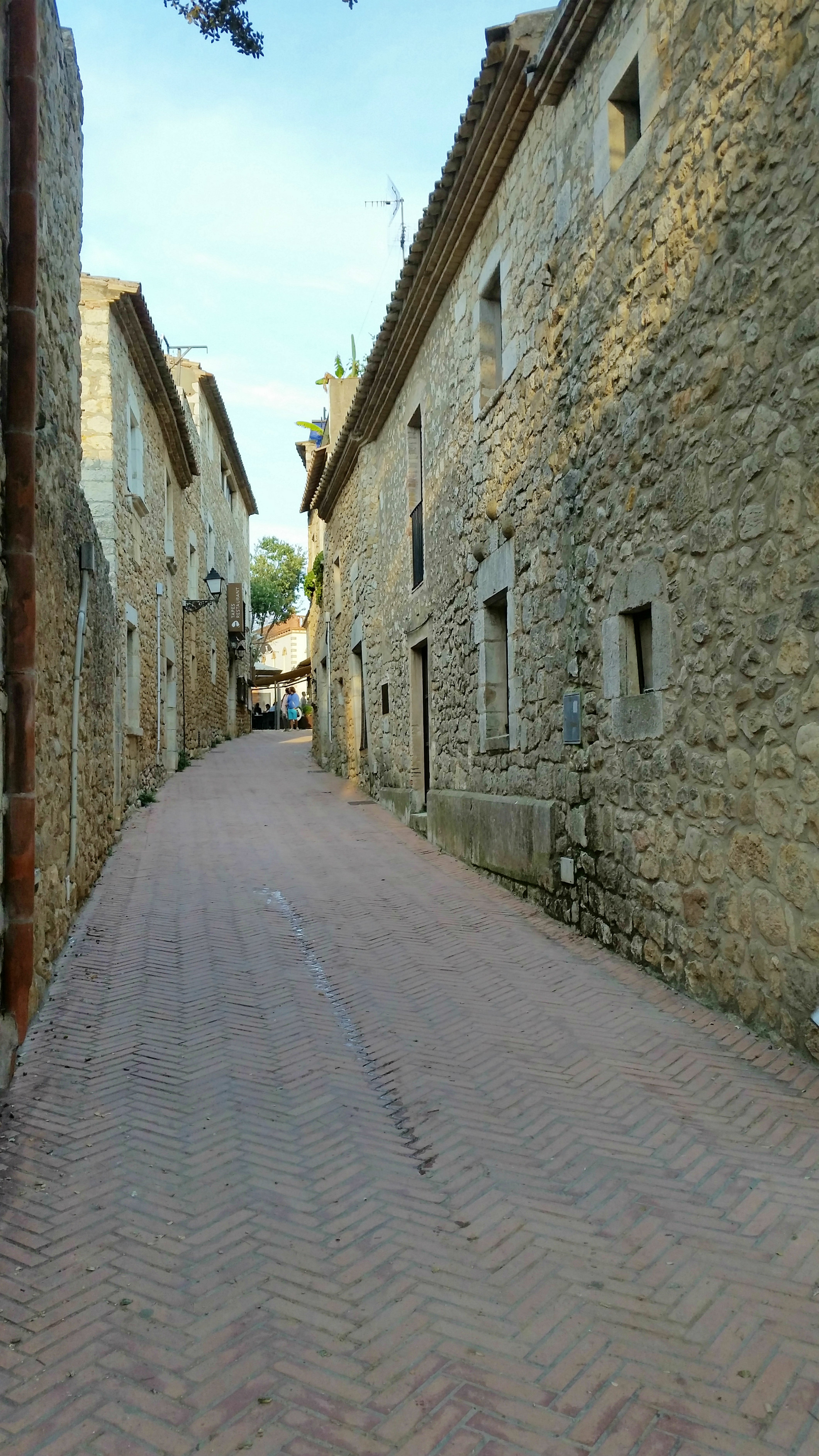 Streets of Sant Marti d' Empuries