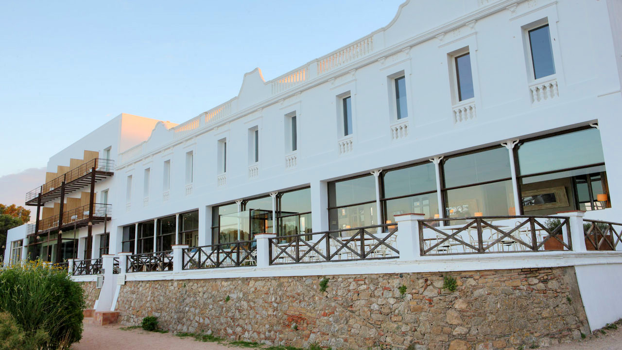 Hostal Spa Empuries Oceanfront Terrace