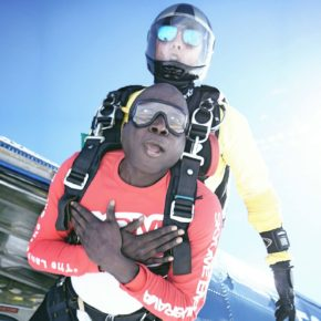 Skydiving in Costa Brava (Video)