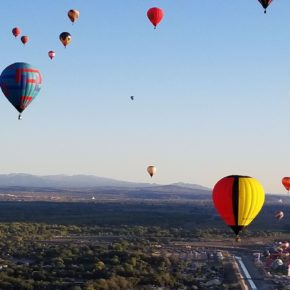 Fly, Fly Away: 2017 Albuquerque Hot Air Balloon Fiesta