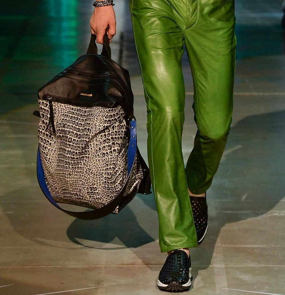 Backpack - Roberto Cavalli S/S 2015
